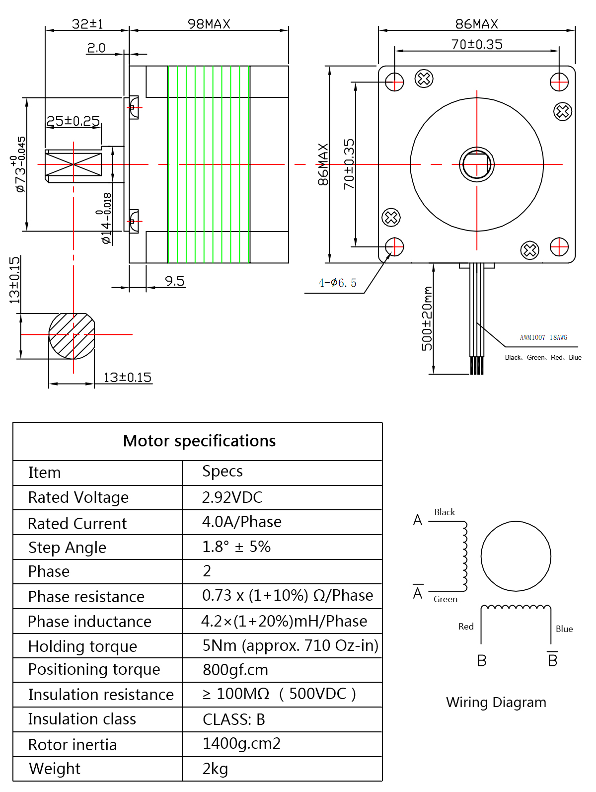 nema 23 wiring diagram 4axis cheap nema 23 stepper motor 425 oz in for 4 axis cnc kit buy